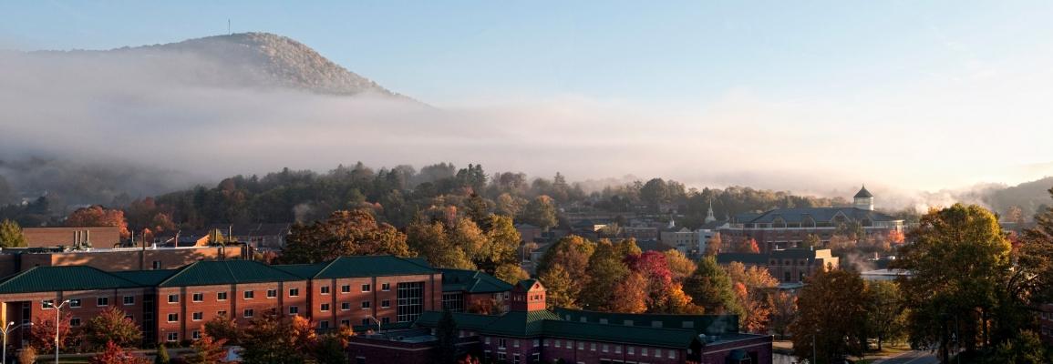 Appalachian State University Fall Panorama